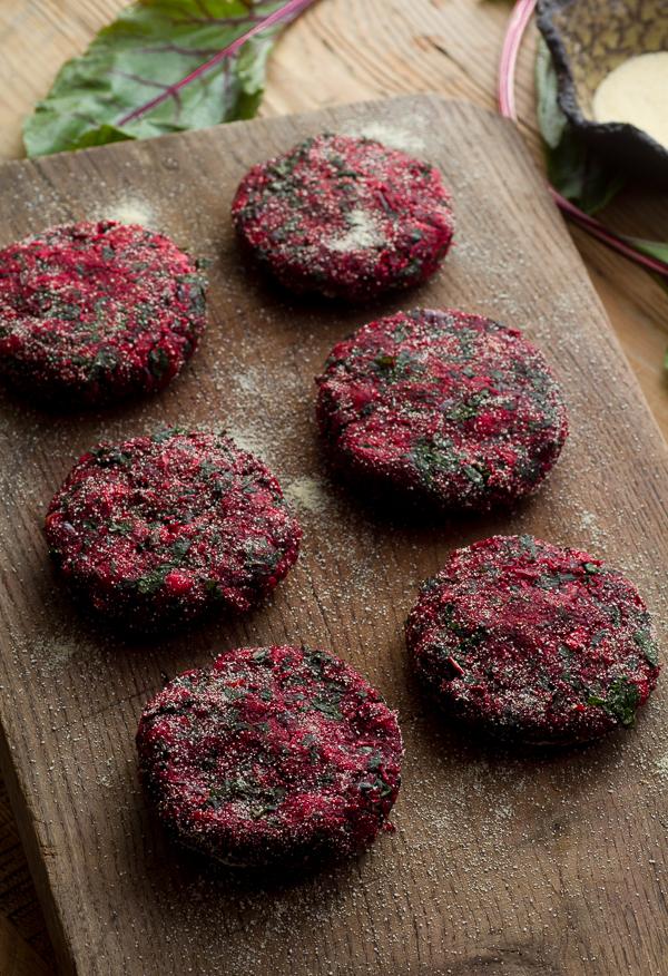 Beet Burger Handfulofrecipes Com